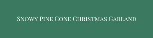 Pine Cone Gnome Christmas Ornament-1 copy