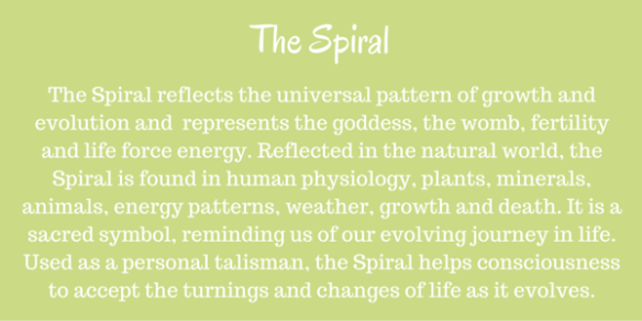 The spiritual meaning of the Spiral : www.theMagicOnions.com