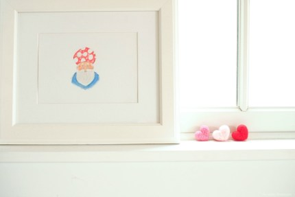 Needle Felted Hearts Video Tutorial :: www.theMagicOnions.com