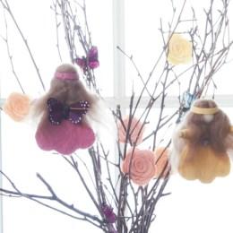 Handmade Spring Fairies :: DIY Felt Tutorial