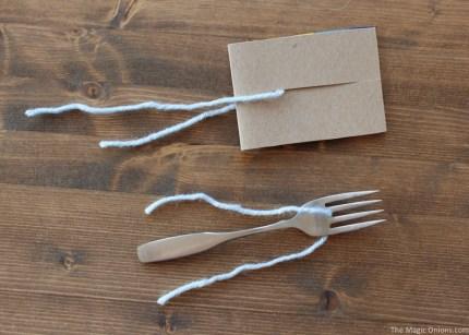 Simple Pom Pom Blue Birds Easter Craft :: www.theMagicOnions.com