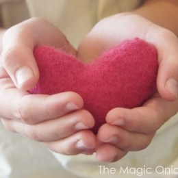 How To Make Immune Boosting Cashmere Heart Hand Warmers