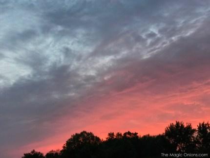 Photo of orange sunset