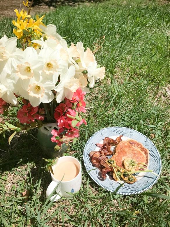Dandelion Fritter Recipe - The Magic Onions