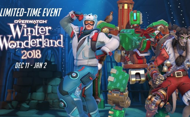 What S New With Overwatch S Winter Wonderland 2018 The