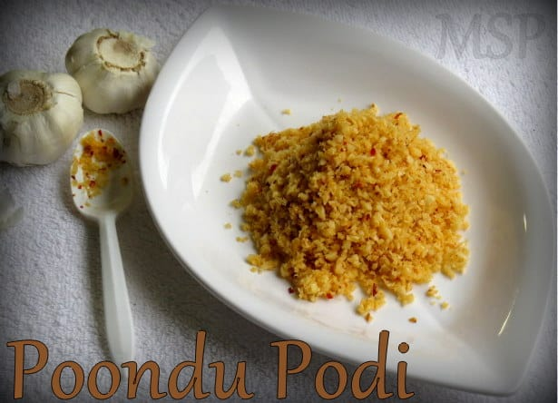 Poondu Podi | Garlic Spice Mix