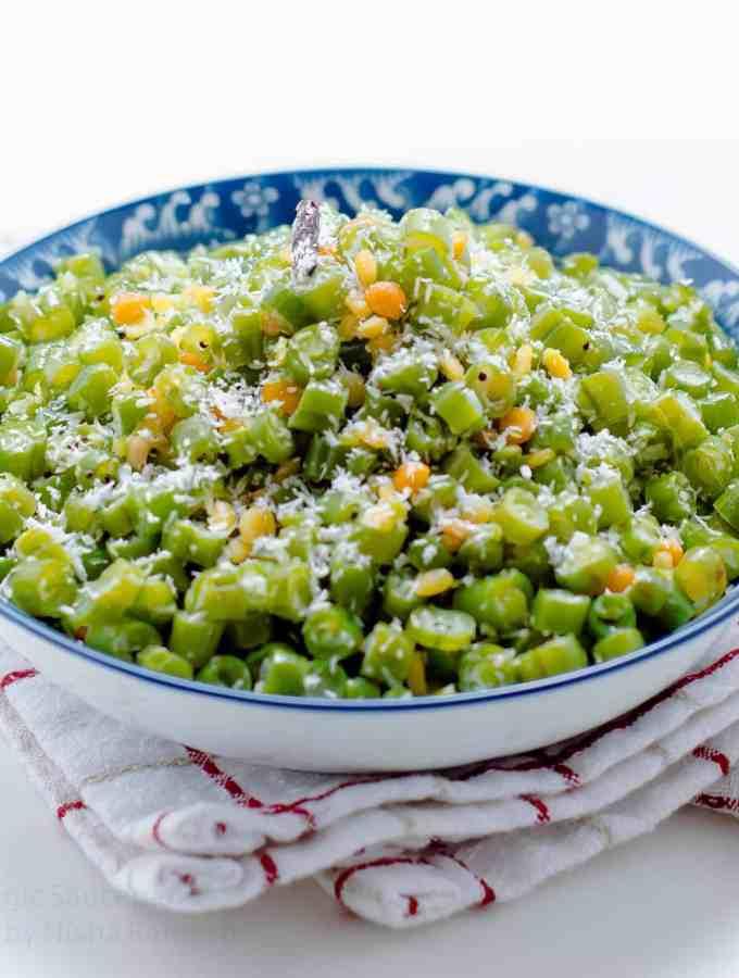 Beans Poriyal | Stir fry