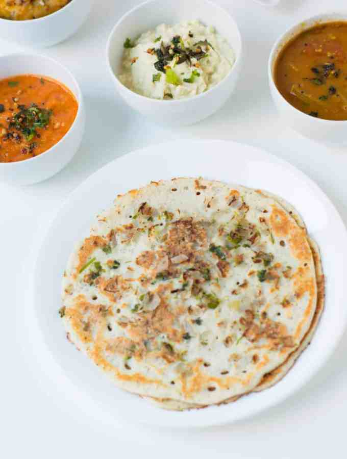 Uthappam Recipe – Dosa Variety
