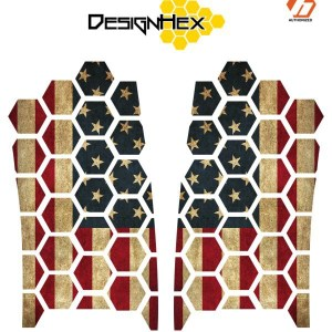 Design Hex American Flag