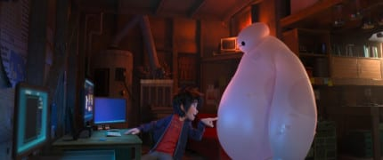 """BIG HERO 6"" Pictured (L-R): Hiro, Baymax. ©2014 Disney. All Rights Reserved."