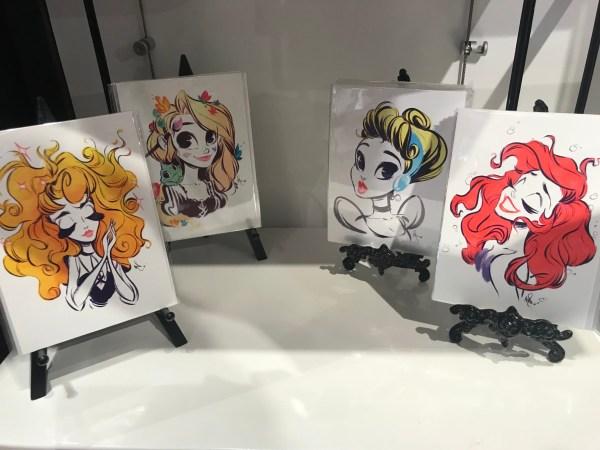 Disney Princess Art Wonderground #disneysprings