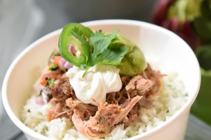 Mojo Pork Rice Bowl