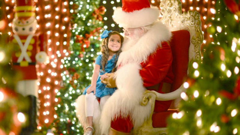 Meet Santa at Santa's Chalet at Disney Springs