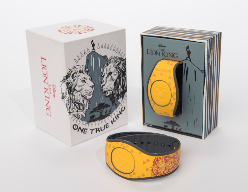 """The Lion King"" MagicBands"