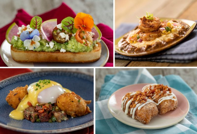EPCOT Sunshine Griddle dishes