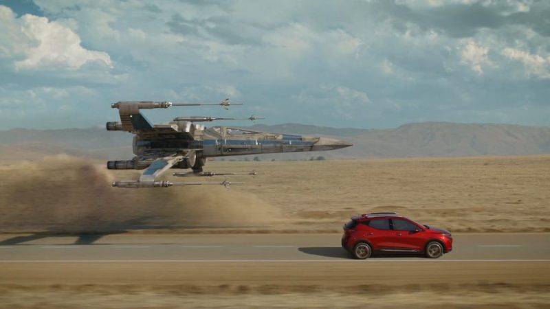 Scene from the new 2022 Chevy Bolt EUV commercial