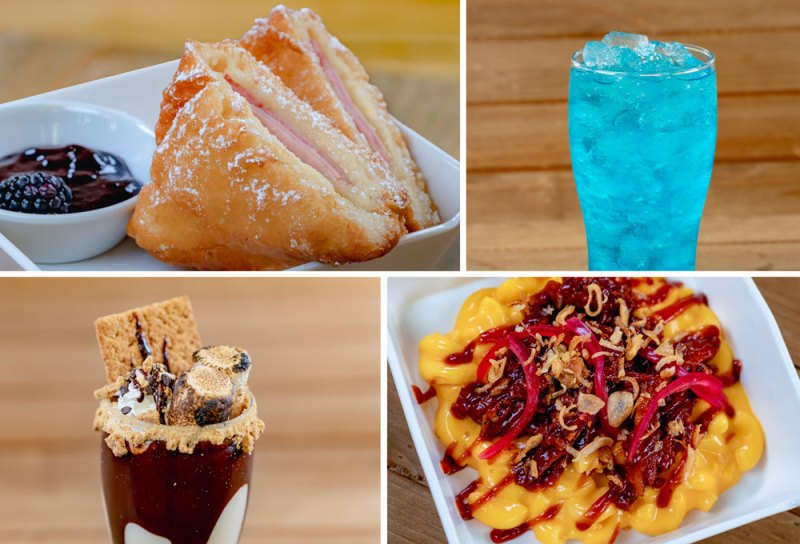 Smokejumpers Grill food items
