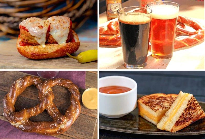 Sonoma Terrace food items