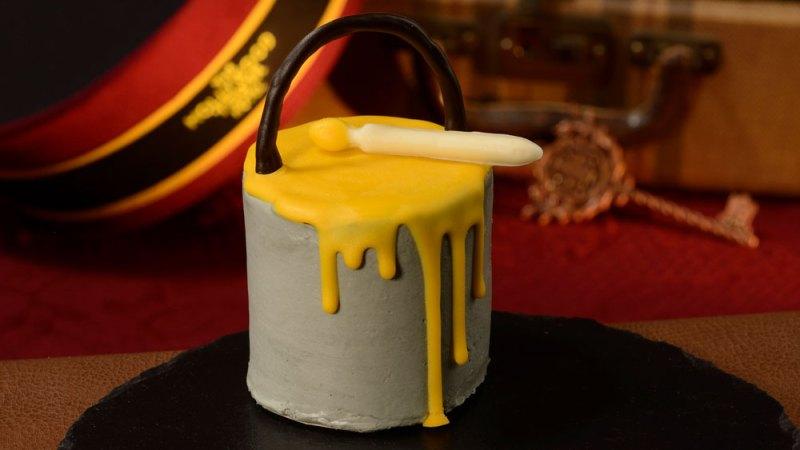 Paint Can Cake at Backlot Express