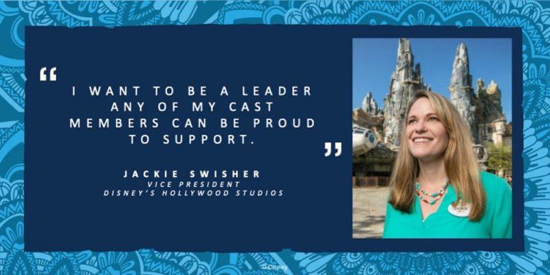Jackie Swisher, Vice President of Disney's Hollywood Studios