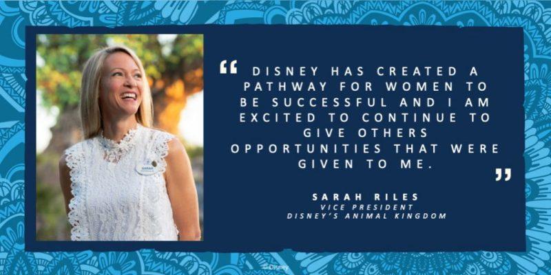 Sarah Riles, Vice Presidnet of Disney's Animal Kingdom