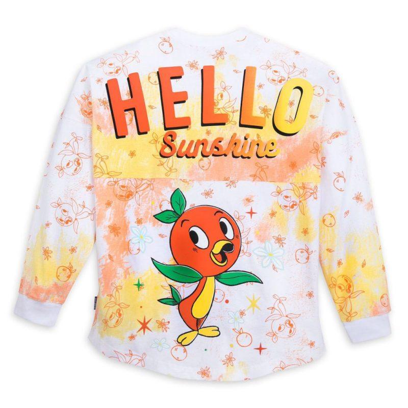 Back of the new Orange Bird spirit jersey