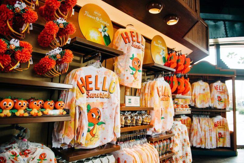 Merchandise from the 2021 Taste of EPCOT International Flower & Garden Festival