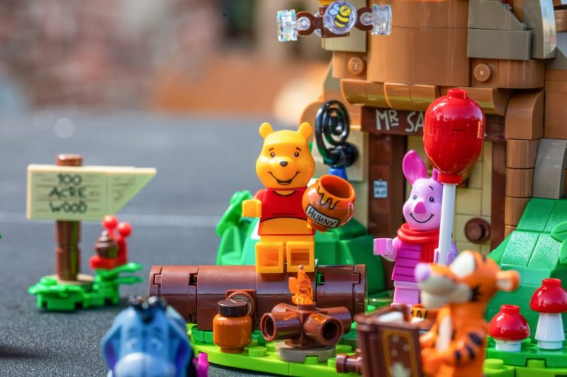 New LEGO Ideas set featuring Winnie the Pooh