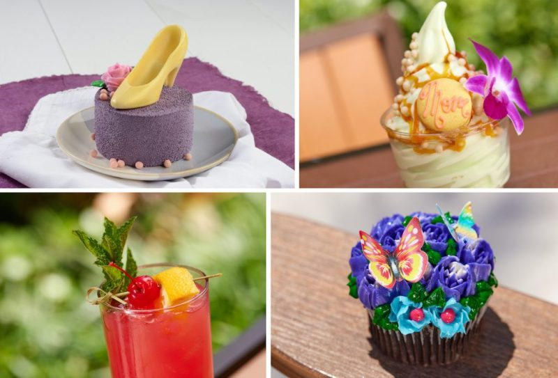 Collage of Mother's Day treats from Walt Disney World Resort