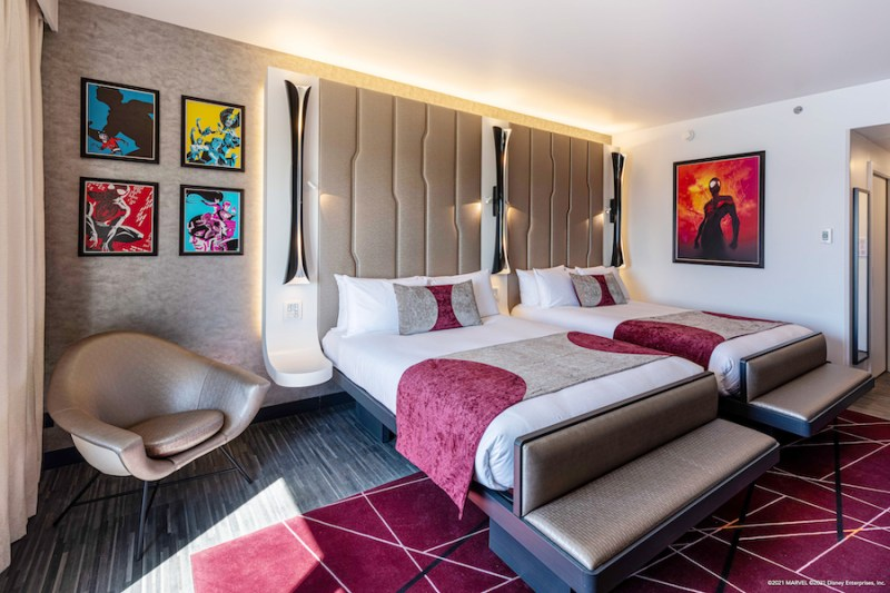 Executive room at Disney's Hotel New York – The Art of Marvel