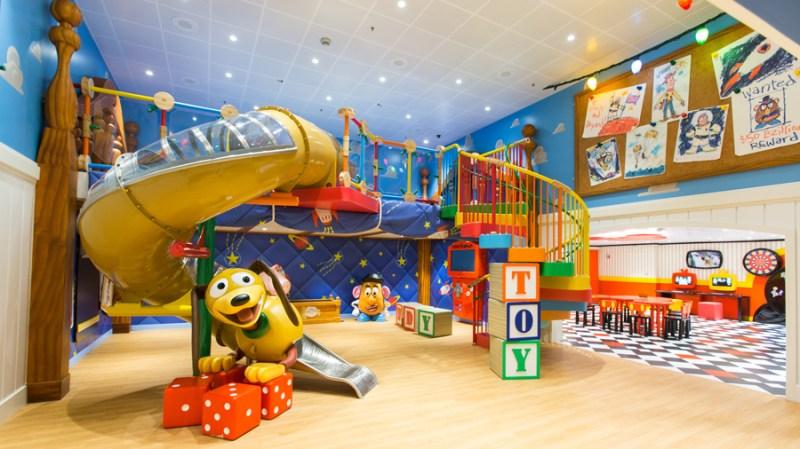 Andy's Room at Disney's Oceaneer Club