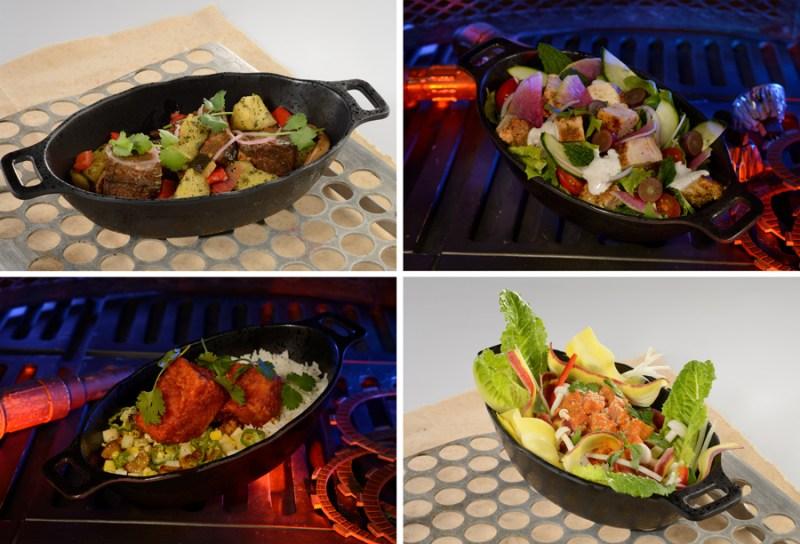 Docking Bay 7 Food and Cargo - Batuuan Beef & Crispy Topato Stir Fry, Roasted Endorian Chicken Salad, Pirjanad Hot Chicken Tip Yip and Peka Tuna Poke