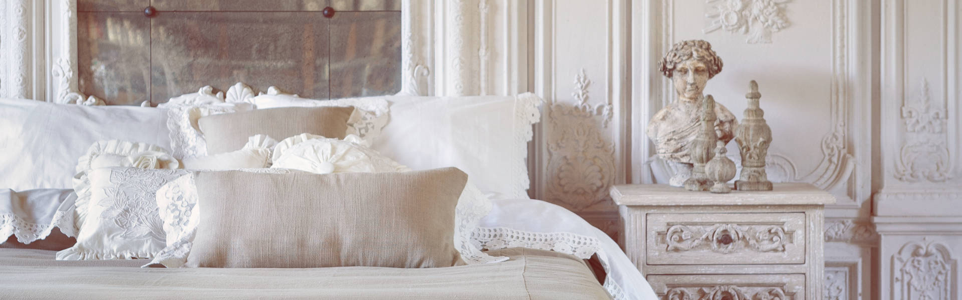 In seta satin raso, biancheria da letto motivo di fiori, argento grigio. The Maison Chic Pagani Country Shabby