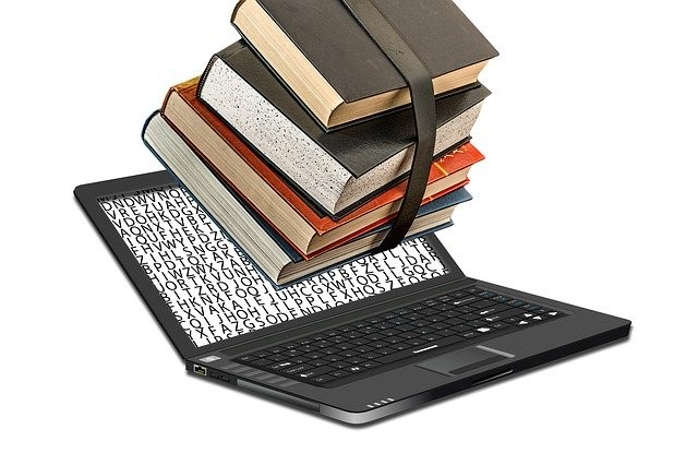 Image of books that proves book publishing as one of the ways people make money online