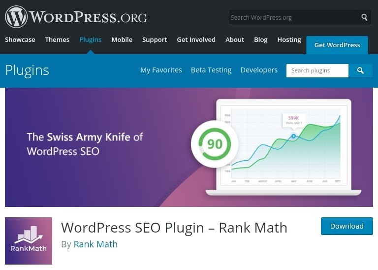 Picture of the Rank Matt SEO Plugin with detailed features