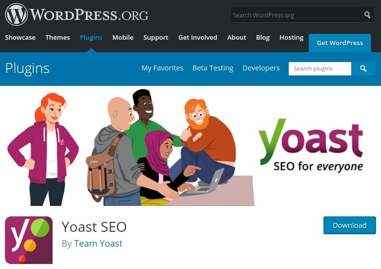 People rejoicing over Yoast SEO Plugin, a plugin for everyone.
