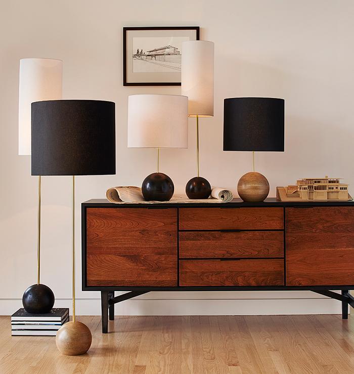 Modern Buffet Lamps