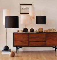 Modern Buffet Lamps - The Makerista