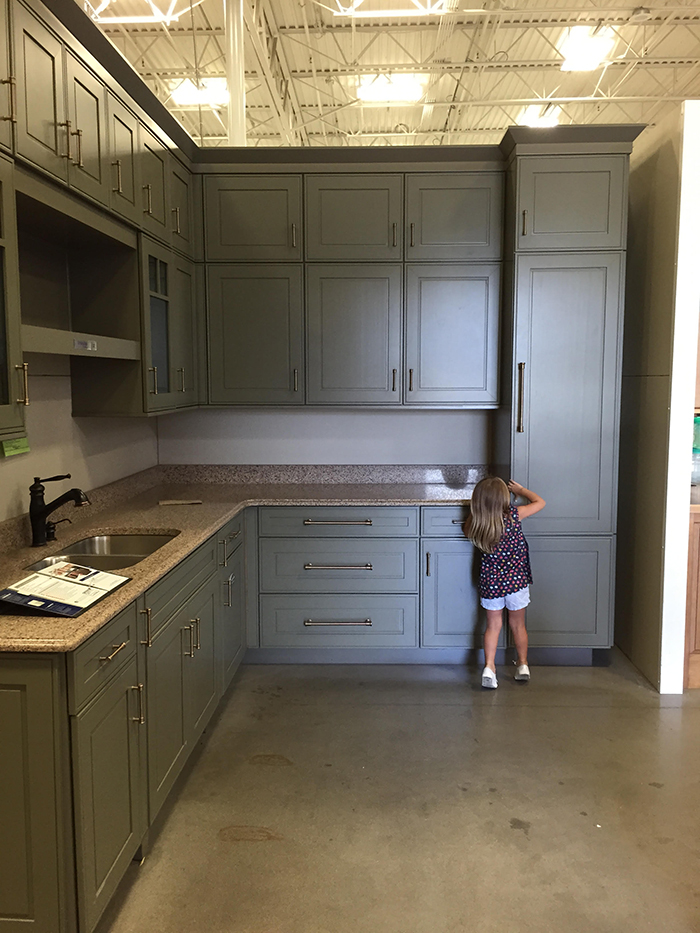 The Kitchen Choosing Cabinets and Countertops  The Makerista