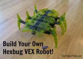Hexbug VEX Robots You Build Yourself