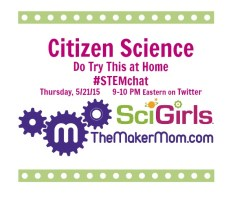 STEMchat with SciGirls on May 21!