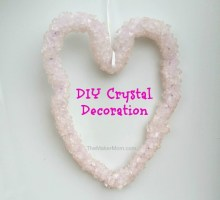 DIY Crystal Heart