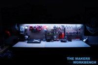 RGB LED Under-Shelf Bench Lighting | The Makers Workbench