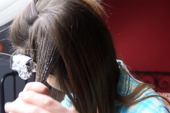All natural DIY balayage for your hair