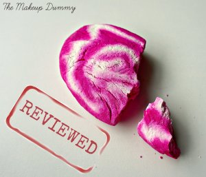 REVIEW LUSH Bubbleroon by The Makeup Dummy