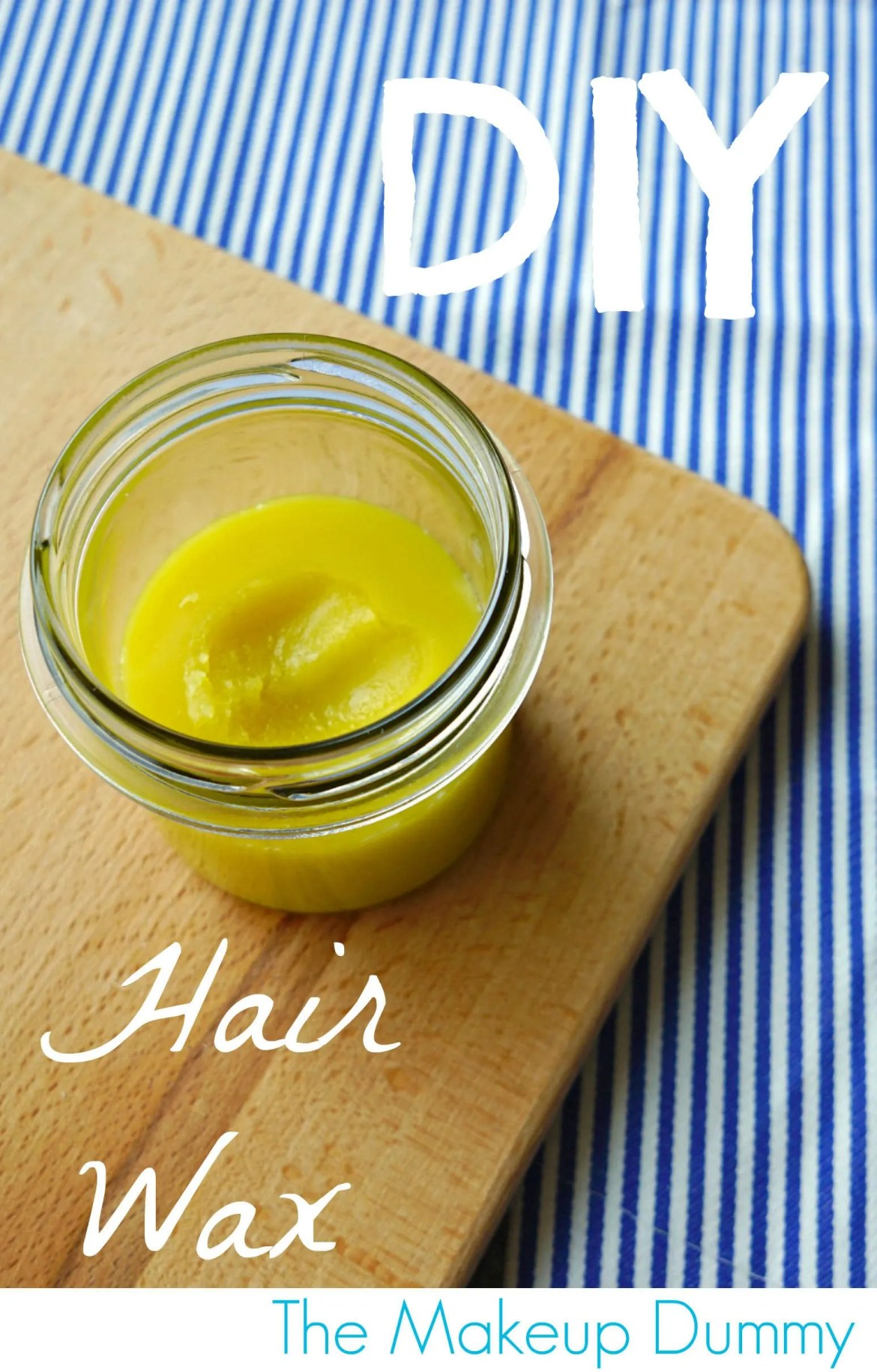 How to make a beeswax hair pommade tutorial DIY by The Makeup Dummy