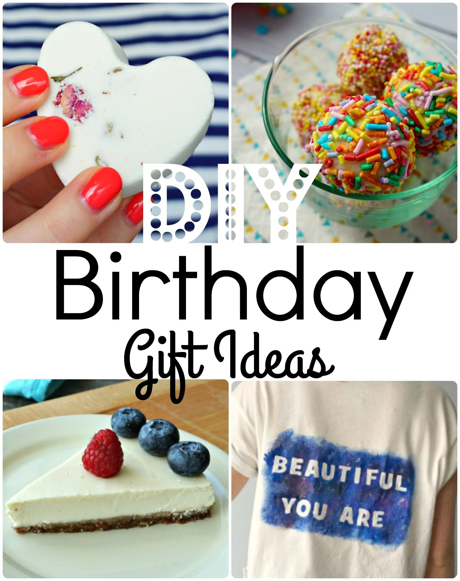7 easy diy birthday