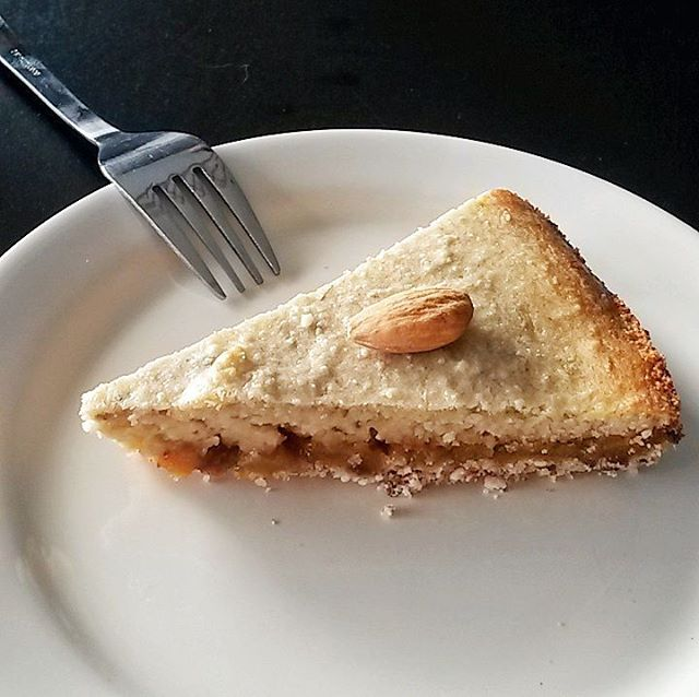 Recipe testing for the blog today This healthy frangipane cakehellip