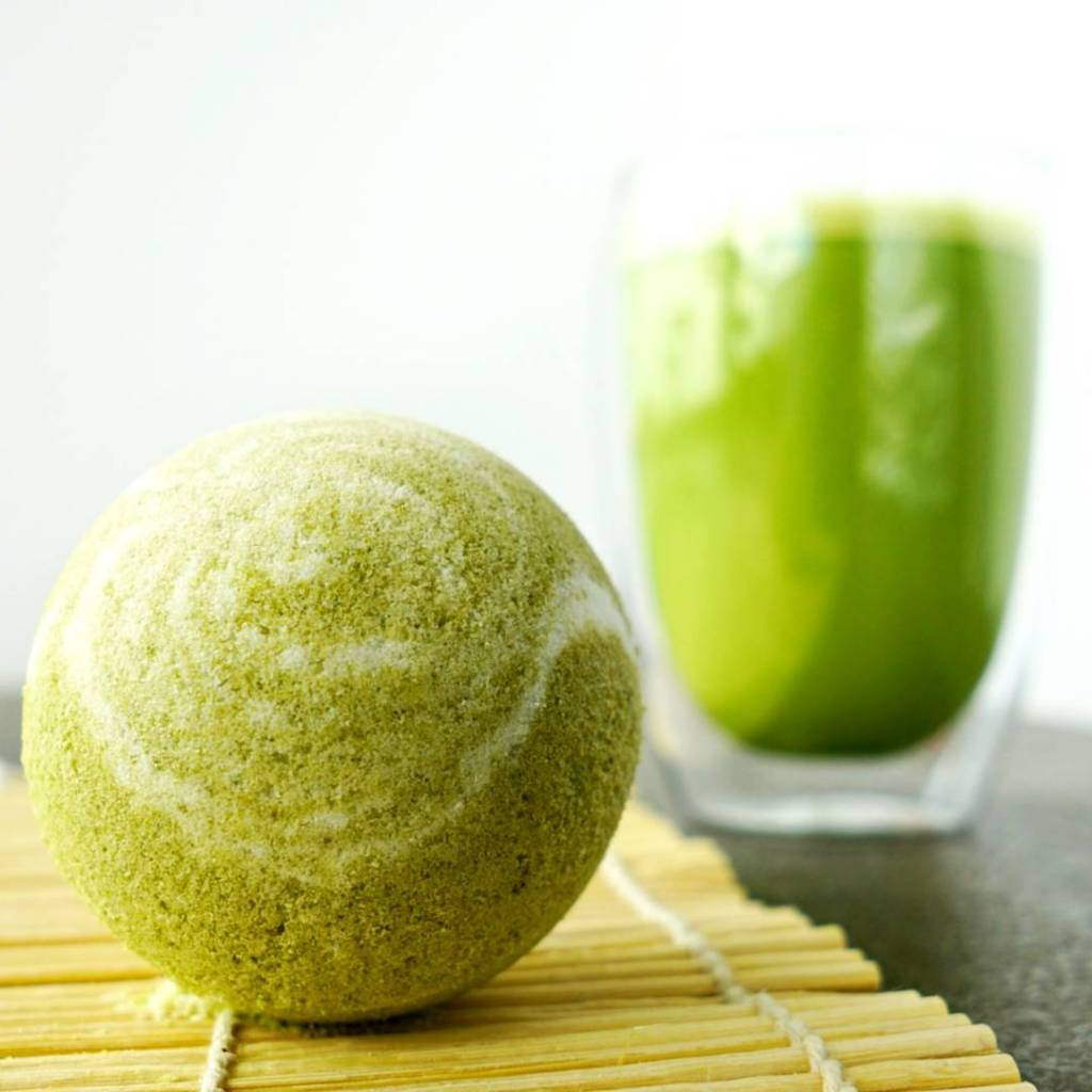 What do you think of my Matcha tea bath bombs?hellip