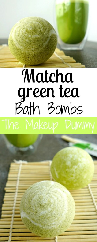 These look AMAZING! How To make your own DIY Matcha Green Tea Bath Bombs! Tutorial by The Makeup Dummy